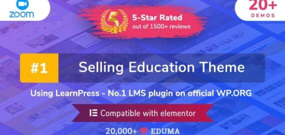 Купить перевод - Eduma | Education WordPress Theme