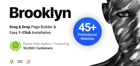 Купить перевод - Brooklyn | Creative Multi-Purpose Responsive WordPress Theme