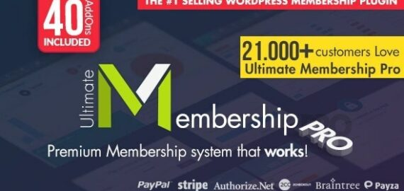 Купить перевод - Ultimate Membership Pro — WordPress Membership Plugin