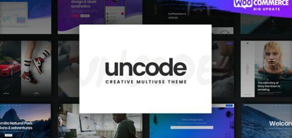 Купить перевод - Uncode | Creative Multiuse & WooCommerce WordPress Theme