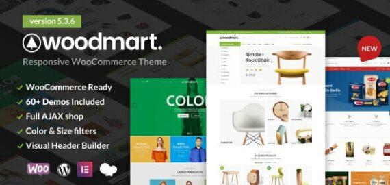 Купить перевод - WoodMart | Responsive WooCommerce WordPress Theme