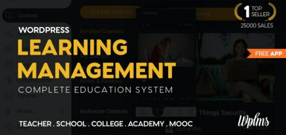 Купить перевод - WPLMS Learning Management System for WordPress, Education Theme
