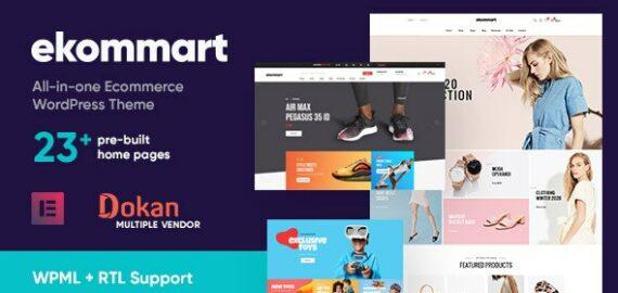 Купить перевод - ekommart — All-in-one eCommerce WordPress Theme