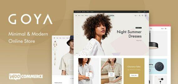 Купить перевод - Goya — Modern WooCommerce Theme