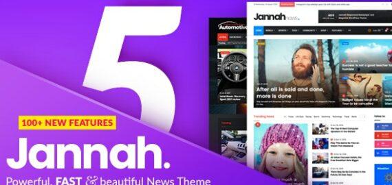 Купить перевод - Jannah — Newspaper Magazine News BuddyPress AMP