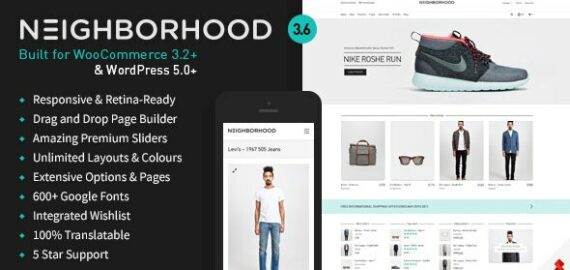 Купить перевод - Neighborhood — Responsive Multi-Purpose Shop Theme