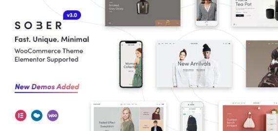 Купить перевод - Sober — WooCommerce WordPress Theme