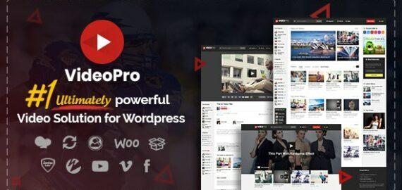 Купить перевод - VideoPro — Video WordPress Theme